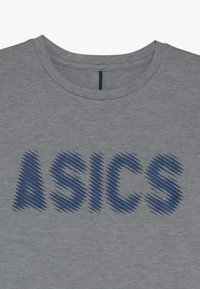 ASICS - T-shirt con stampa - mid grey heather - 5