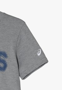 ASICS - T-shirt con stampa - mid grey heather - 2