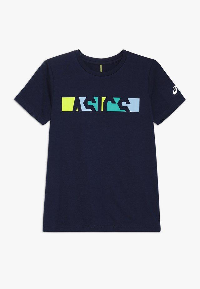 COLOR  - Camiseta estampada - peacoat