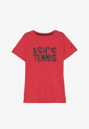TENNIS - T-shirt print - laser pink