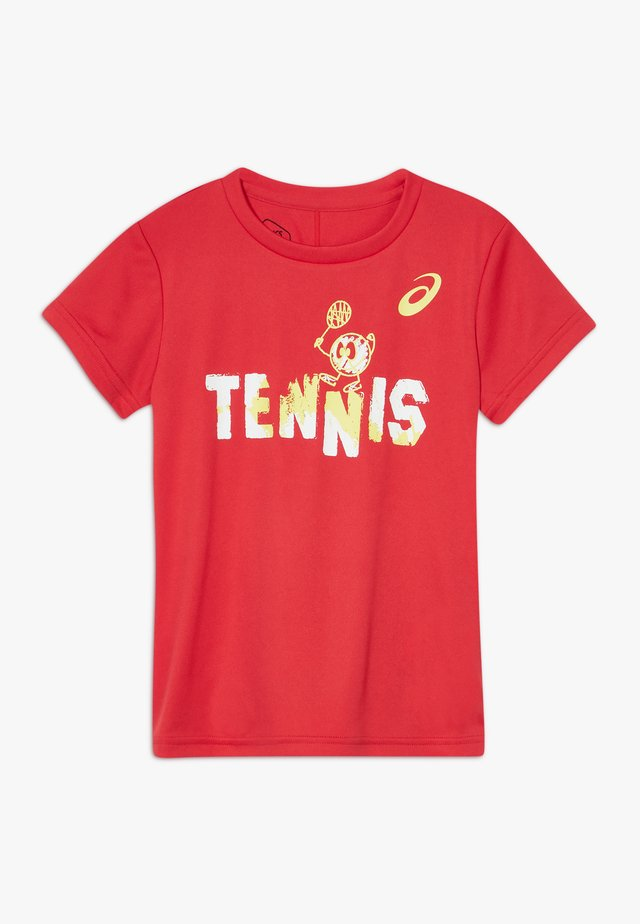 TENNIS GRAPHIC  - Funkční triko - classic red