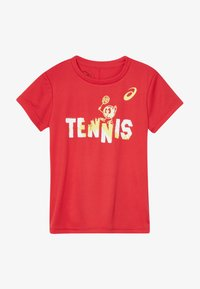 ASICS - TENNIS GRAPHIC  - Sports shirt - classic red - 2