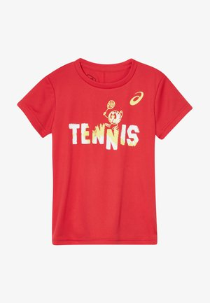 TENNIS GRAPHIC  - Sports shirt - classic red