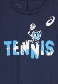 ASICS - TENNIS GRAPHIC  - Sports shirt - peacoat - 3