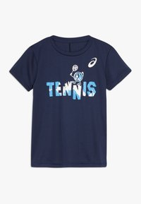 ASICS - TENNIS GRAPHIC  - Sports shirt - peacoat - 0