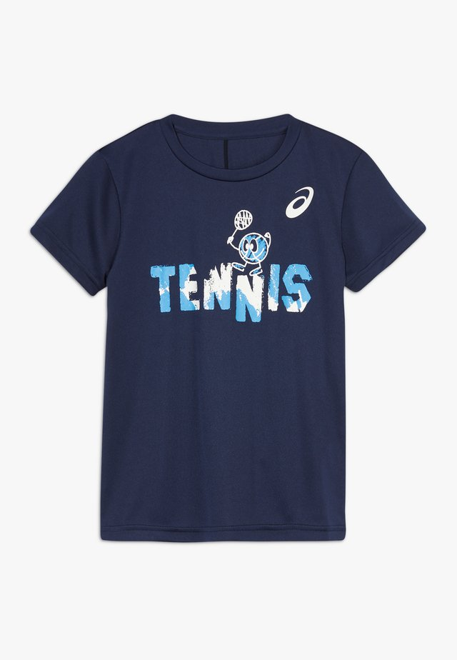 TENNIS GRAPHIC  - Camiseta de deporte - peacoat