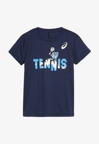 ASICS - TENNIS GRAPHIC  - Sports shirt - peacoat - 2