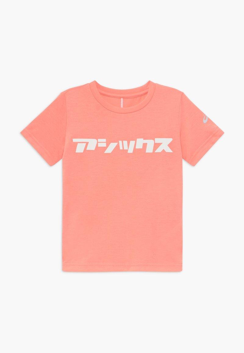 ASICS - KATAKANA - Print T-shirt - guava