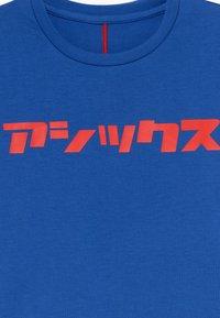 ASICS - KATAKANA - Triko spotiskem - asics blue - 3
