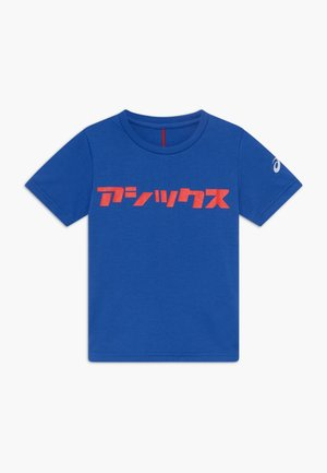 KATAKANA - Print T-shirt - asics blue