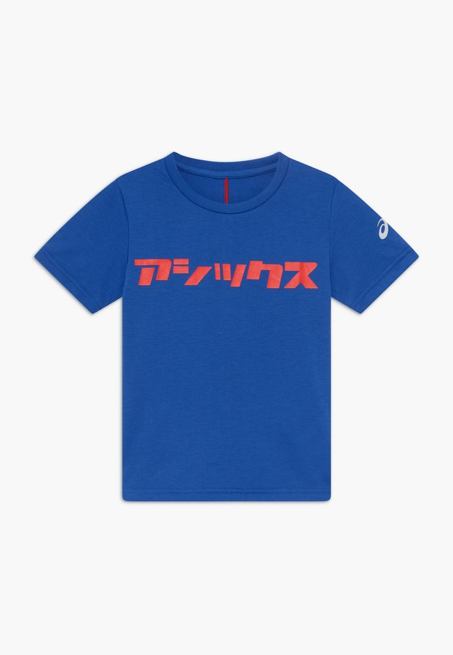 KATAKANA - Camiseta estampada - asics blue