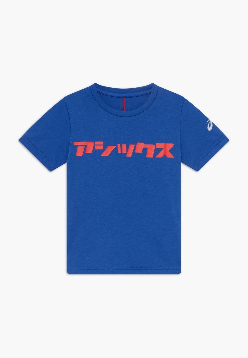 ASICS - KATAKANA - Triko spotiskem - asics blue