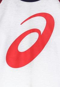 ASICS - BIG SPIRAL  - Sports shirt - brilliant white/peacoat - 3