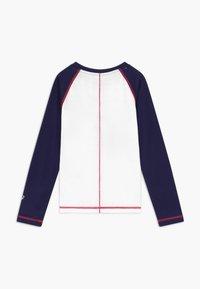 ASICS - BIG SPIRAL  - Sports shirt - brilliant white/peacoat - 1