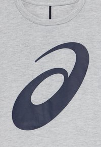 ASICS - BIG SPIRAL - Print T-shirt - mid grey heather - 3