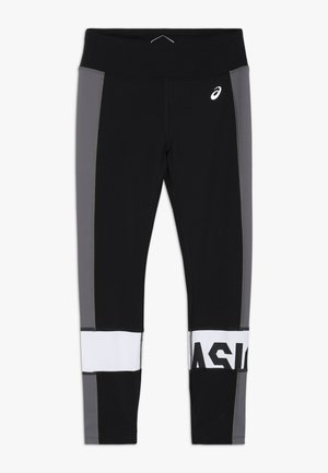 COLOR BLOCK - Leggings - performance black