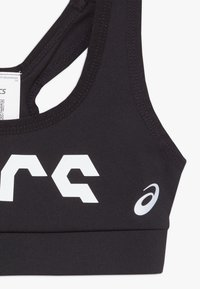 ASICS - GRAPHIC BRA - Sujetador deportivo - performance black