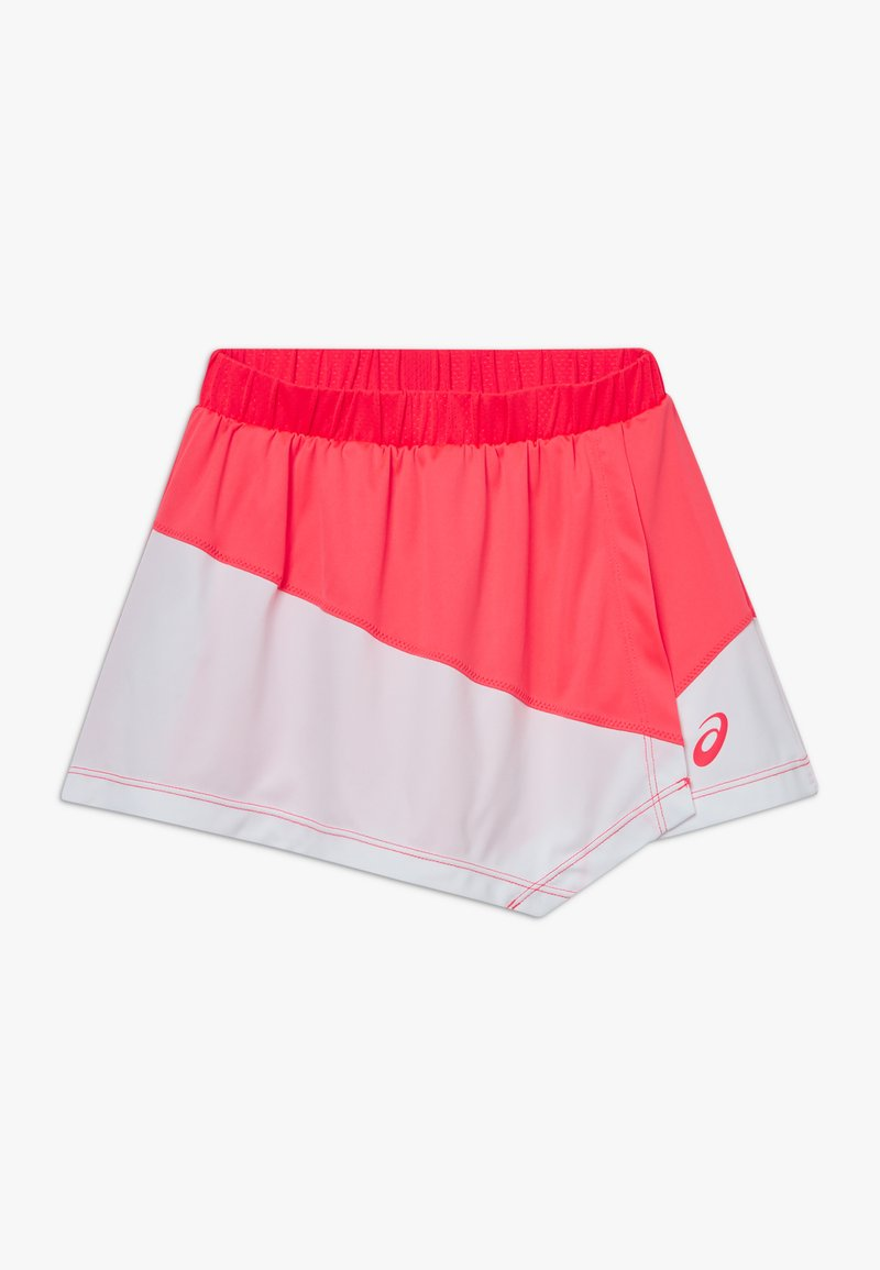 ASICS - TENNIS CLUB SKORT - Sports skirt - diva pink/brilliant white