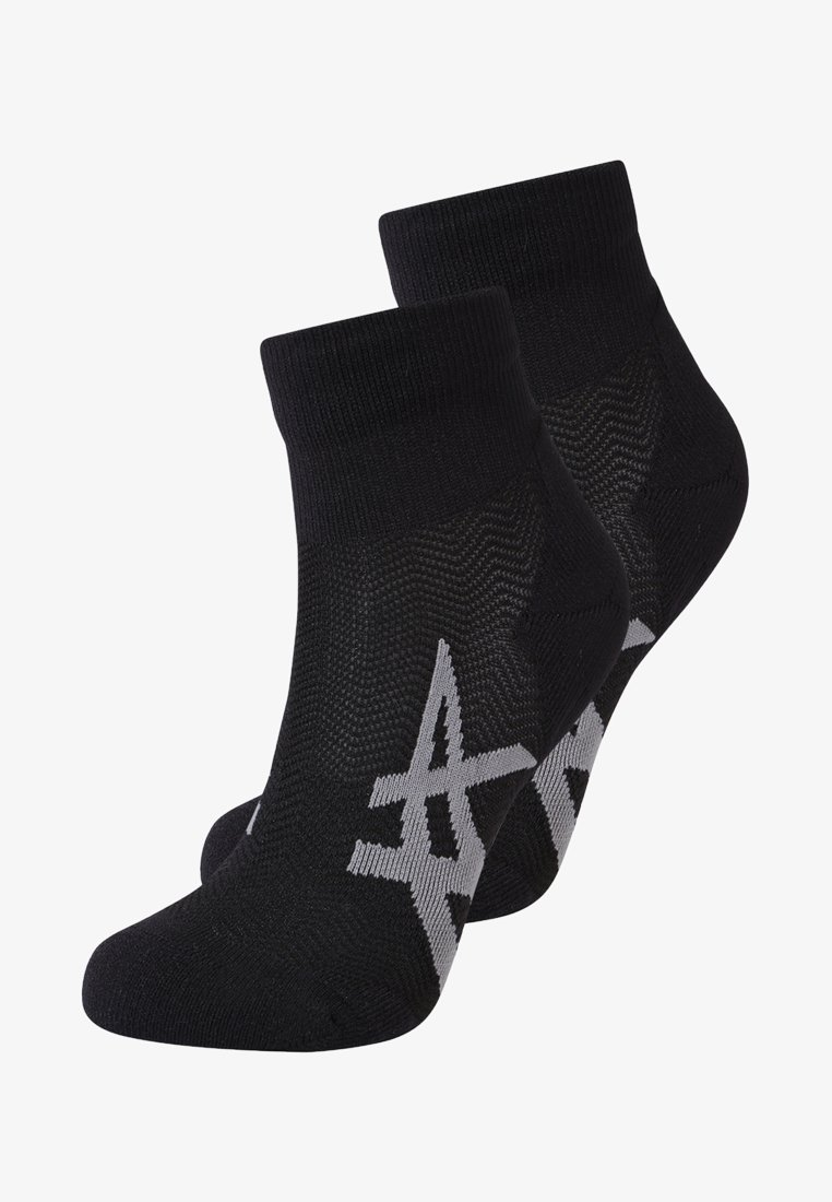 ASICS - CUSHIONING 2 PACK - Calcetines tobilleros - performance black