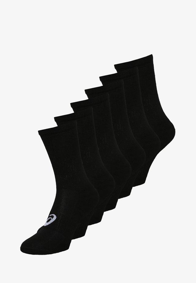 6 PACK - Calcetines de deporte - performance black