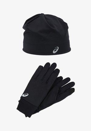 RUNNING PACK SET - Fingerhandschuh - performance black