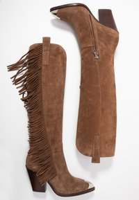 Ash - ELODIE - High heeled boots - russet - 3
