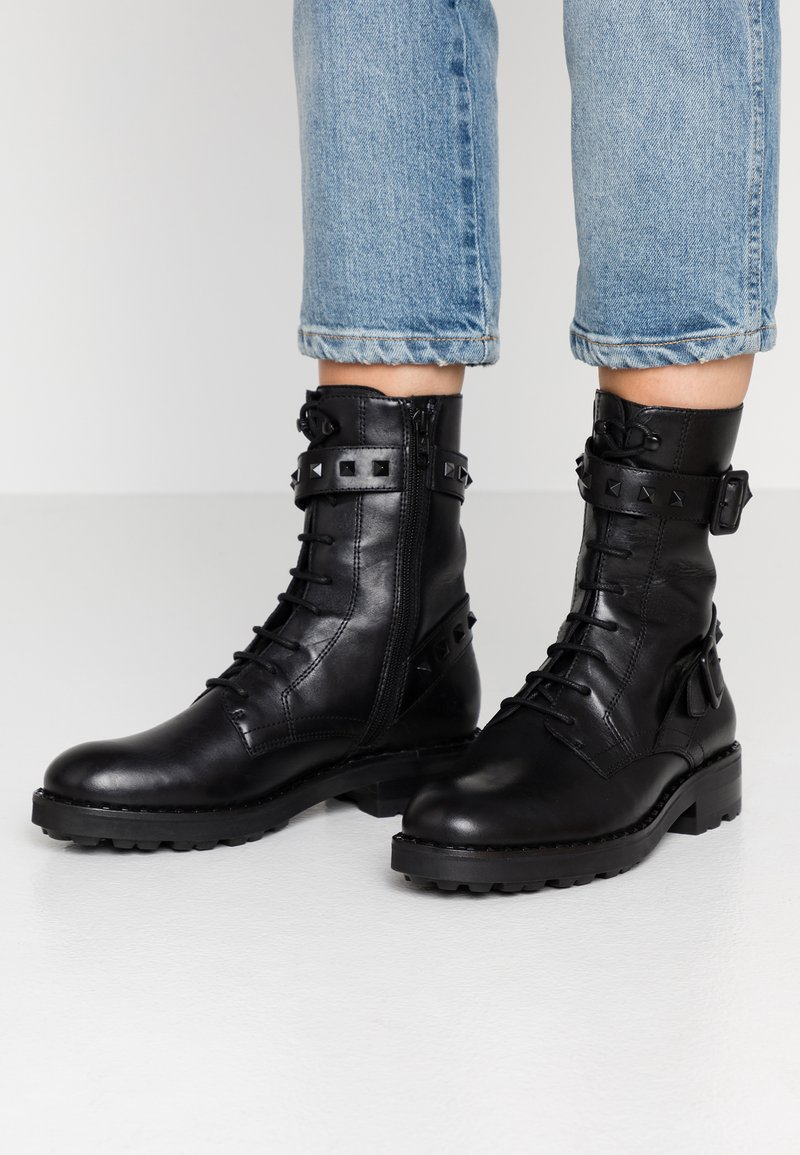 Ash - WITCH BIS - Lace-up boots - black