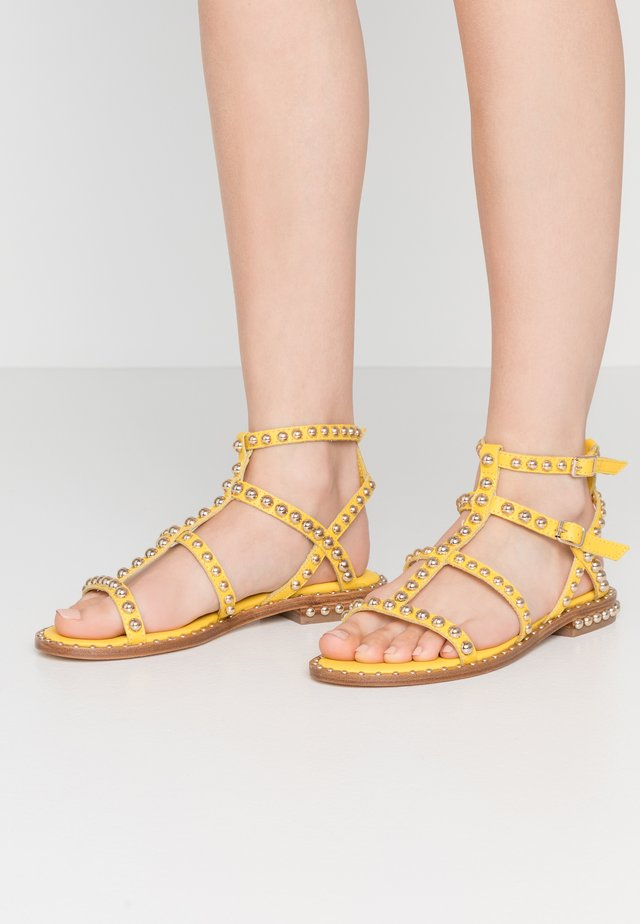 Sandaler - soft brazil lemon