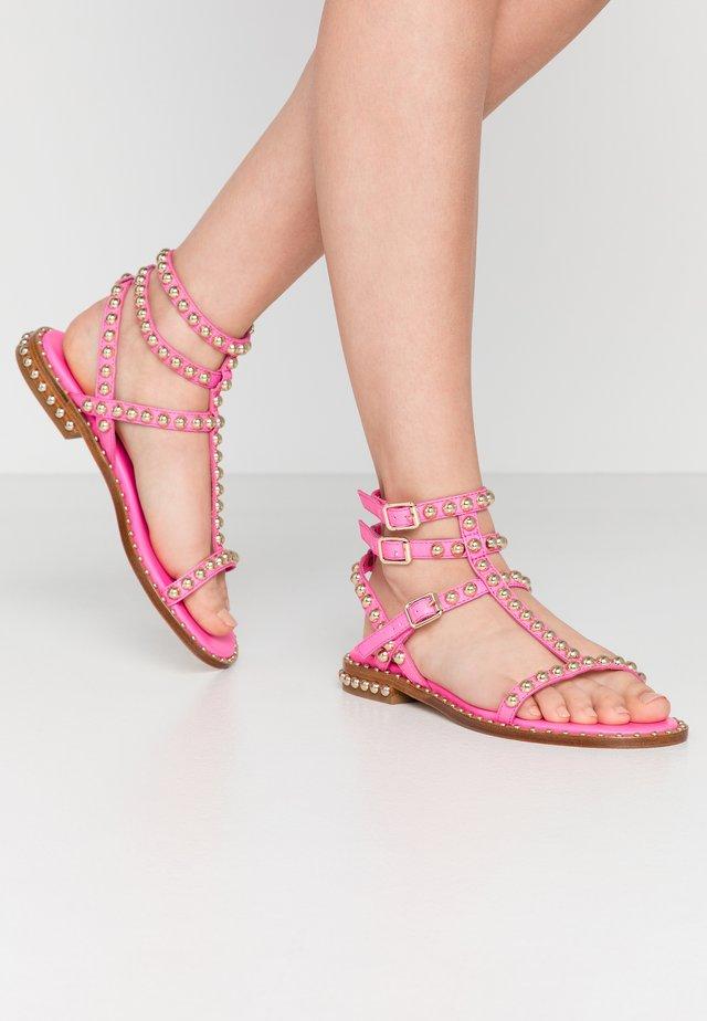 Sandaler - soft brasil deep pink