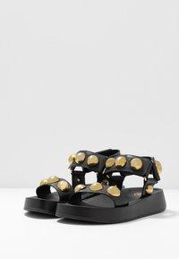Ash - VLILCAN - Platform sandals - black - 4