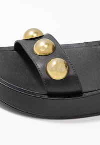 Ash - VLILCAN - Platform sandals - black - 2