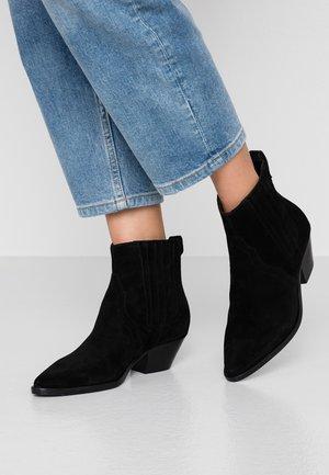 FUTURE - Cowboy/biker ankle boot - black