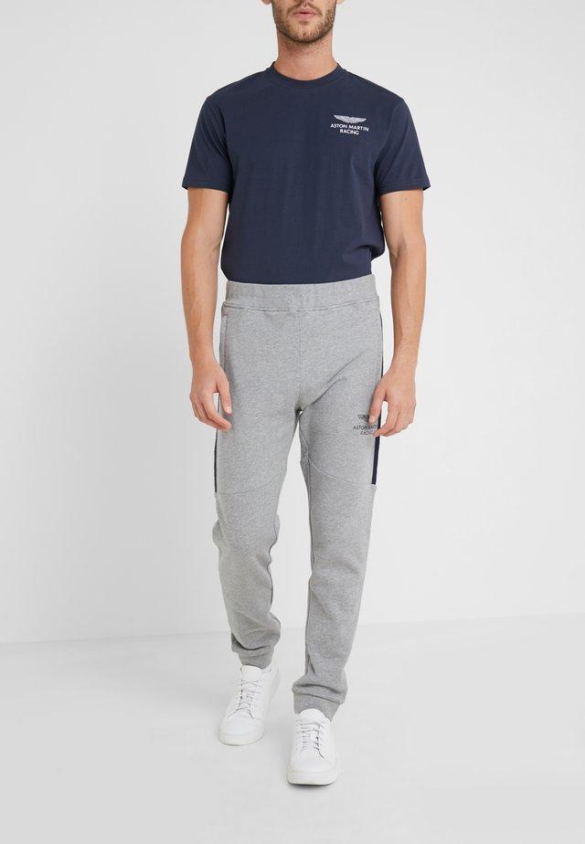 JOGGER - Træningsbukser - mottled grey
