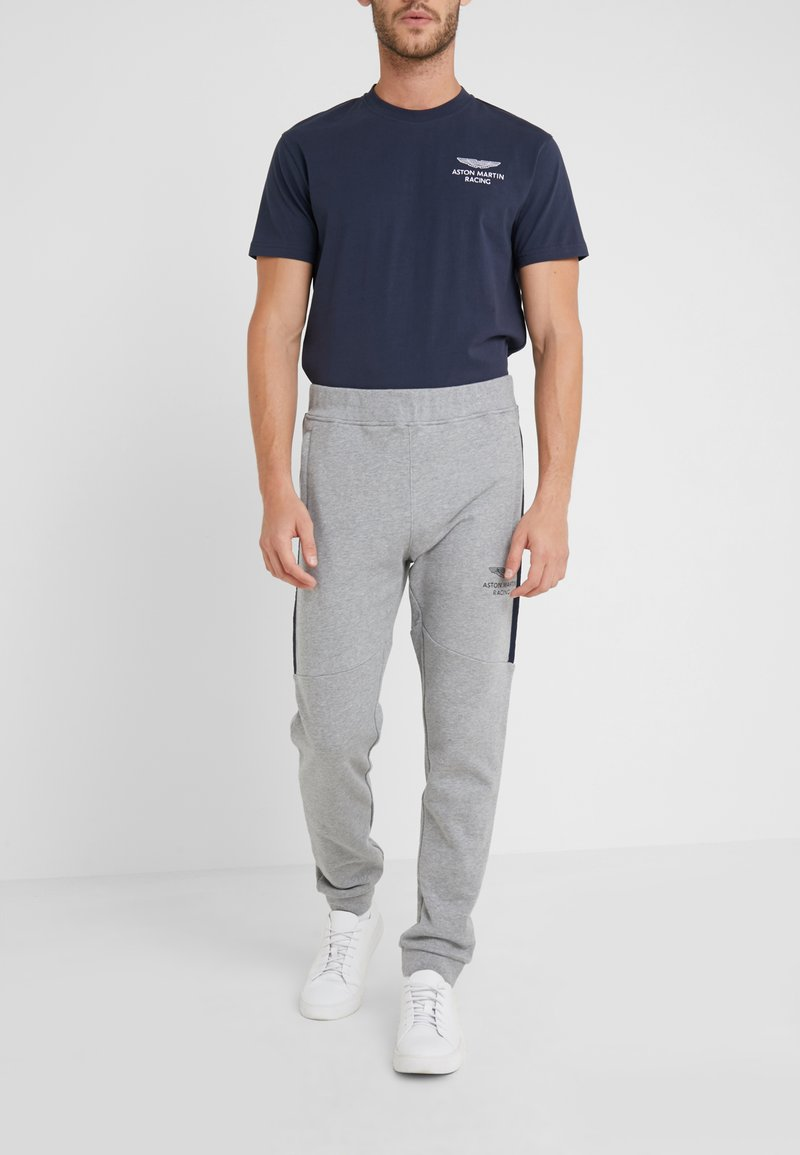 Hackett Aston Martin Racing - JOGGER - Jogginghose - mottled grey