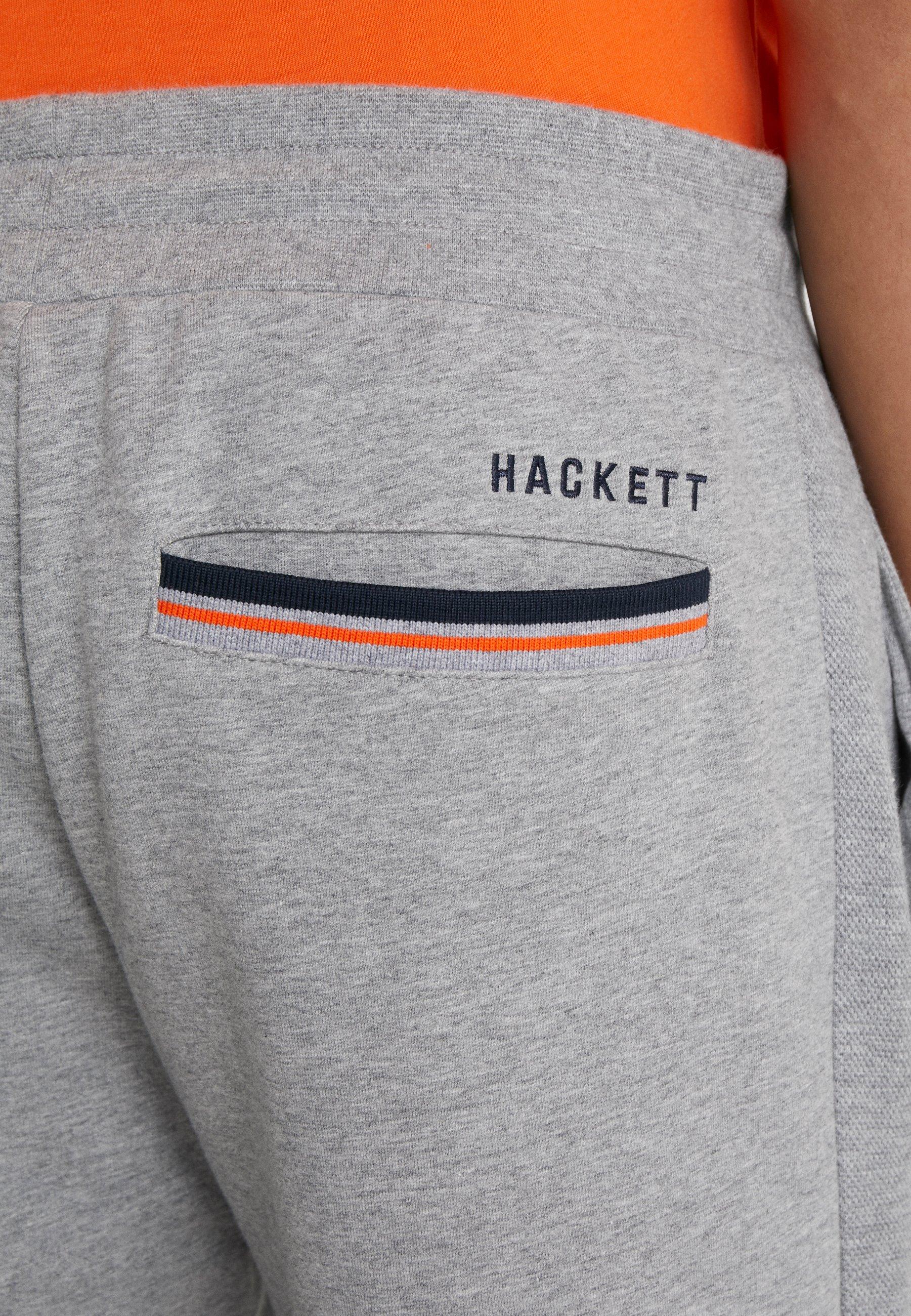 Hackett Aston Martin Racing AMR TRACK SHORTS - Pantaloni sportivi - grey marl