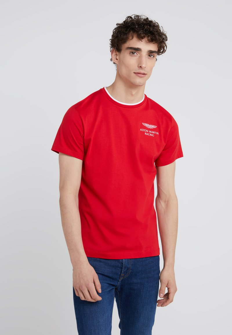 Hackett Aston Martin Racing - TEE - T-shirt basic - red