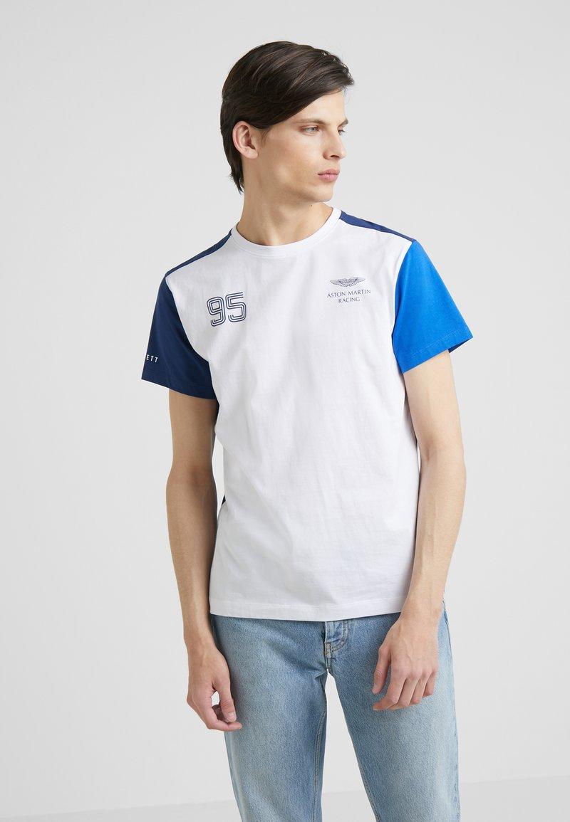 Hackett Aston Martin Racing - TEE - T-shirt med print - white/multi