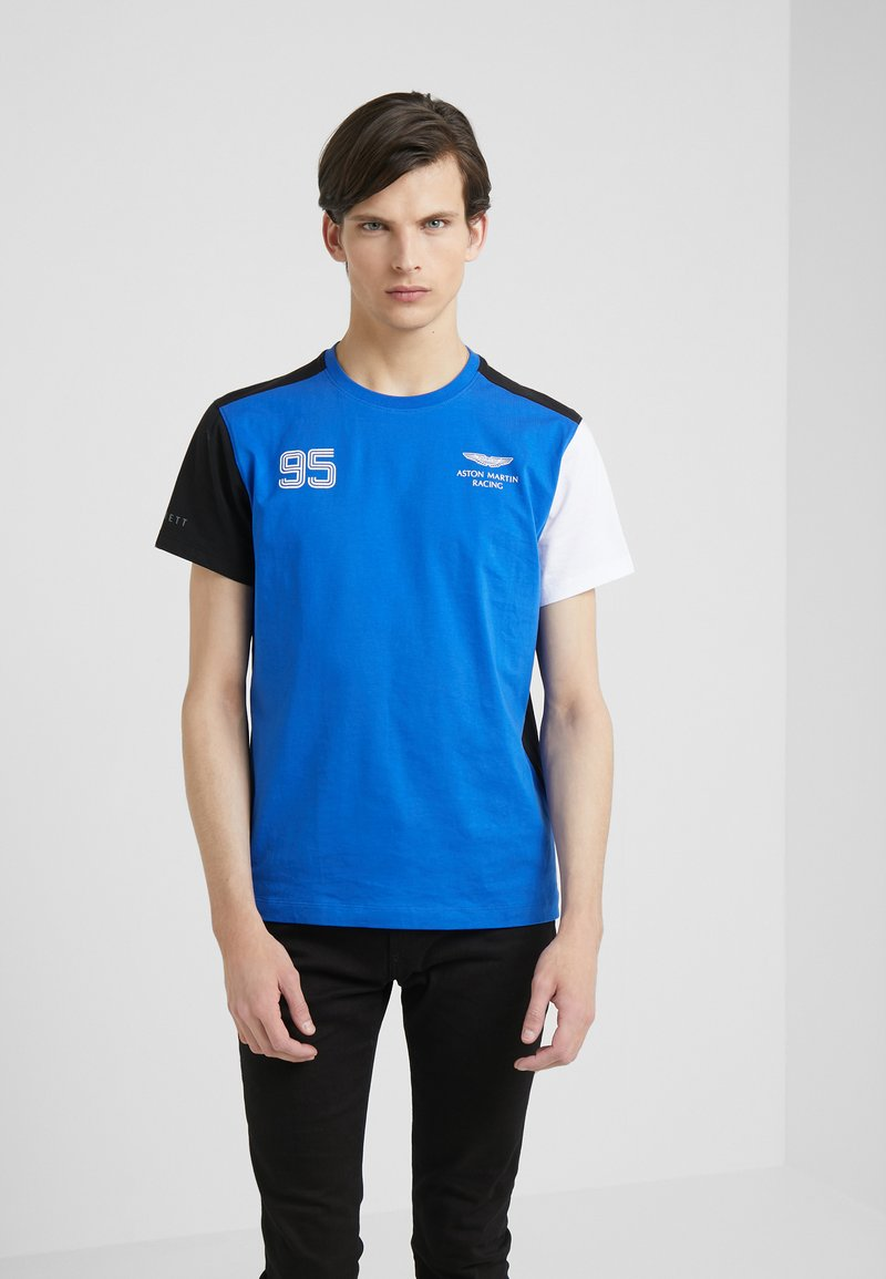 Hackett Aston Martin Racing - TEE - Print T-shirt - blue/multi