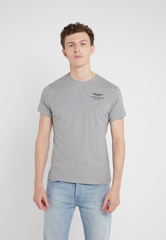 LOGO TEE - T-Shirt basic - grey