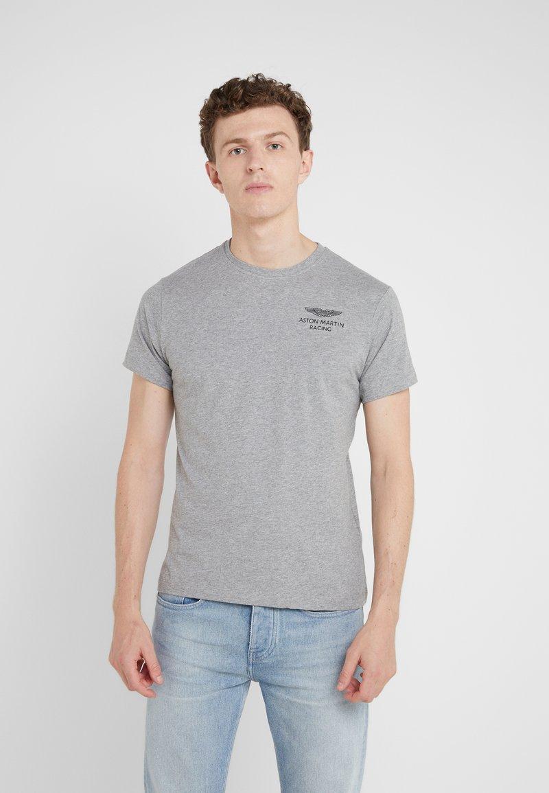 Hackett Aston Martin Racing - LOGO TEE - Basic T-shirt - grey