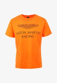 Hackett Aston Martin Racing - AMR WINGS TEE - T-shirts print - flame orange - 4