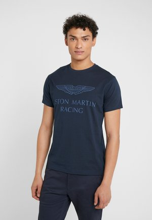 AMR WINGS TEE - T-shirts print - navy