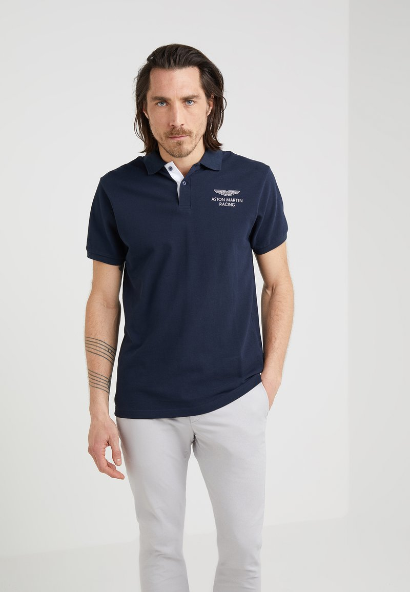 Hackett Aston Martin Racing - Poloshirts - navy