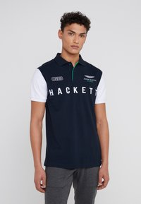 Hackett Aston Martin Racing - WINGS - Polo shirt - navy/white - 0