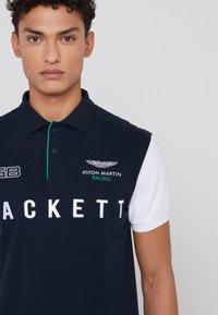 Hackett Aston Martin Racing - WINGS - Polo shirt - navy/white - 5