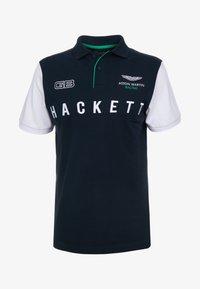 Hackett Aston Martin Racing - WINGS - Polo shirt - navy/white - 4