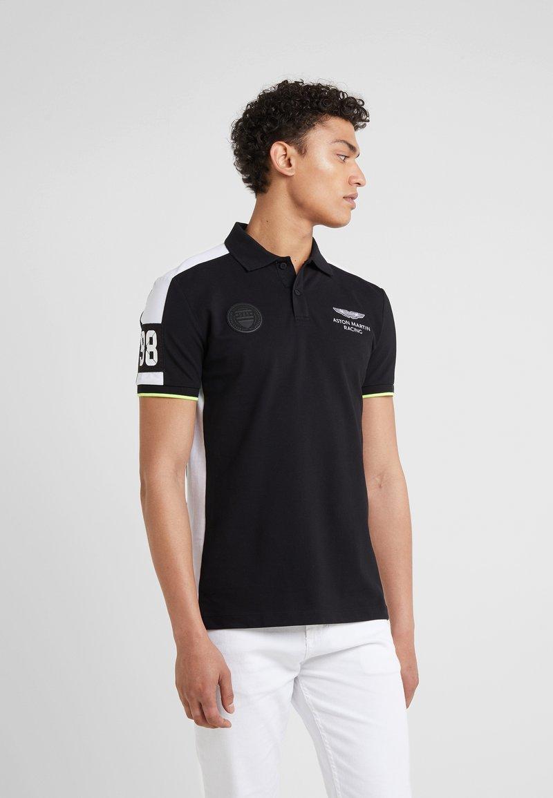 Hackett Aston Martin Racing - Poloshirt - black/white