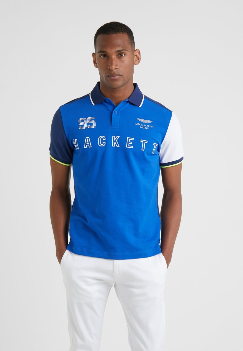 Hackett Aston Martin Racing - MULTI - Poloshirt - blue/multi
