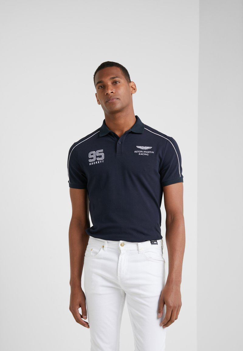 Hackett Aston Martin Racing - PANEL - Polo shirt - navy