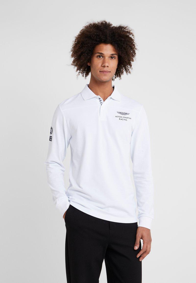 Hackett Aston Martin Racing - Poloshirts - white